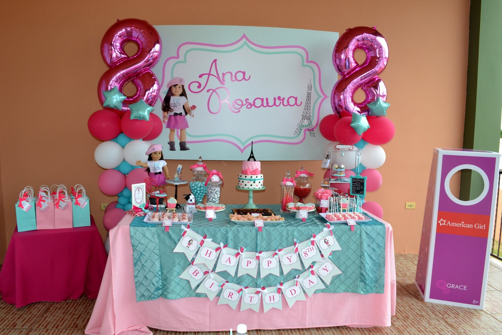 American Doll Party Decorations Unique Birthday Party Ideas And Themes