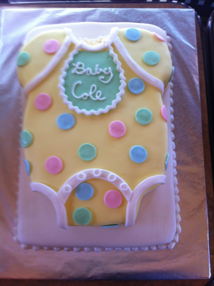 11 Shaped Cakes For Baby Showers Photo Baby Shower Cake Shaped