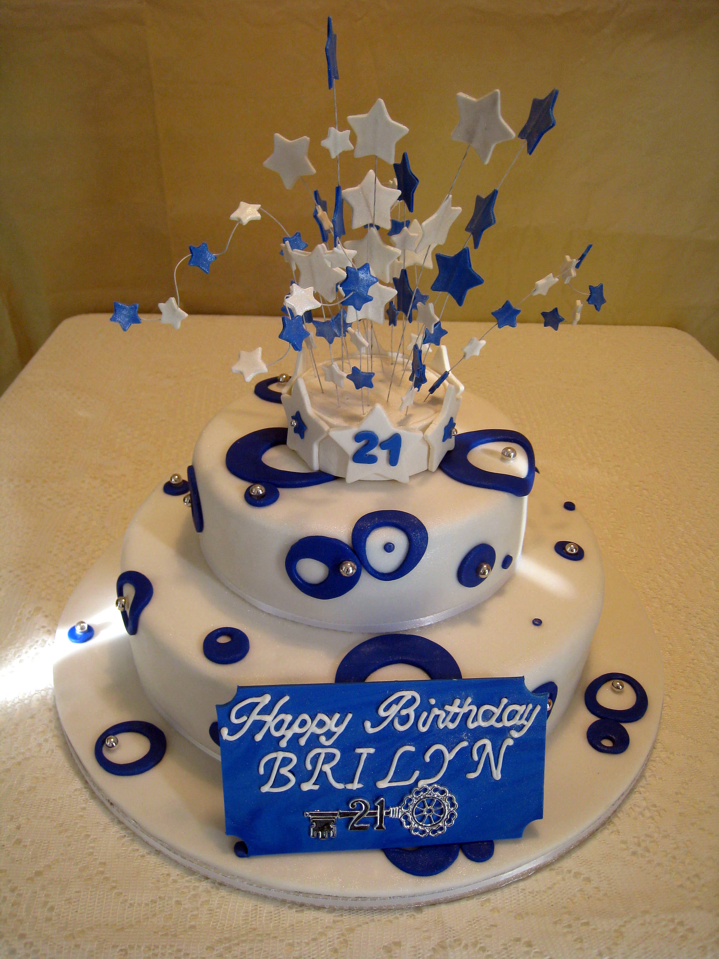 11 21st Cakes For Boys Photo Birthday Cake Ideas