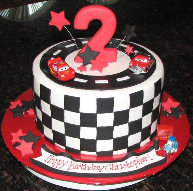 13 Lightning Mcqueen Birthday Cakes Photo Lightning Mcqueen Cake