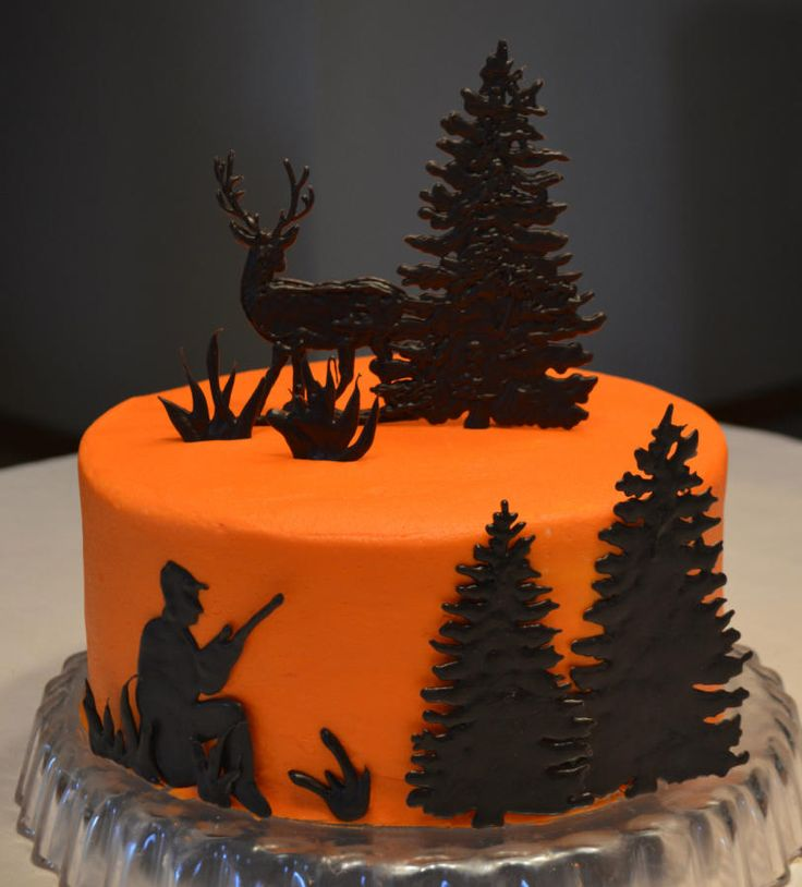 Astonishing 11 Deer Hunting Cupcakes Photo Deer Hunting Birthday Cake Camo Personalised Birthday Cards Sponlily Jamesorg