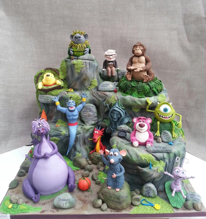6 Frozen Pixar Cakes Photo Disney Frozen Birthday Cake Frozen