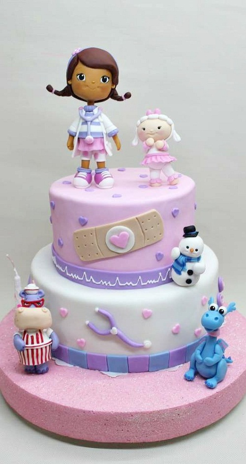 Astounding 11 Doc Mcstuffins Birthday Cakes For Girls 5 Year Old Photo Doc Funny Birthday Cards Online Elaedamsfinfo