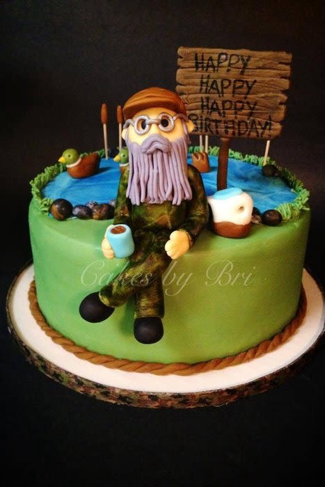Tremendous 7 Duck Dynasty Birthday Cupcakes Photo Happy Birthday Duck Personalised Birthday Cards Veneteletsinfo
