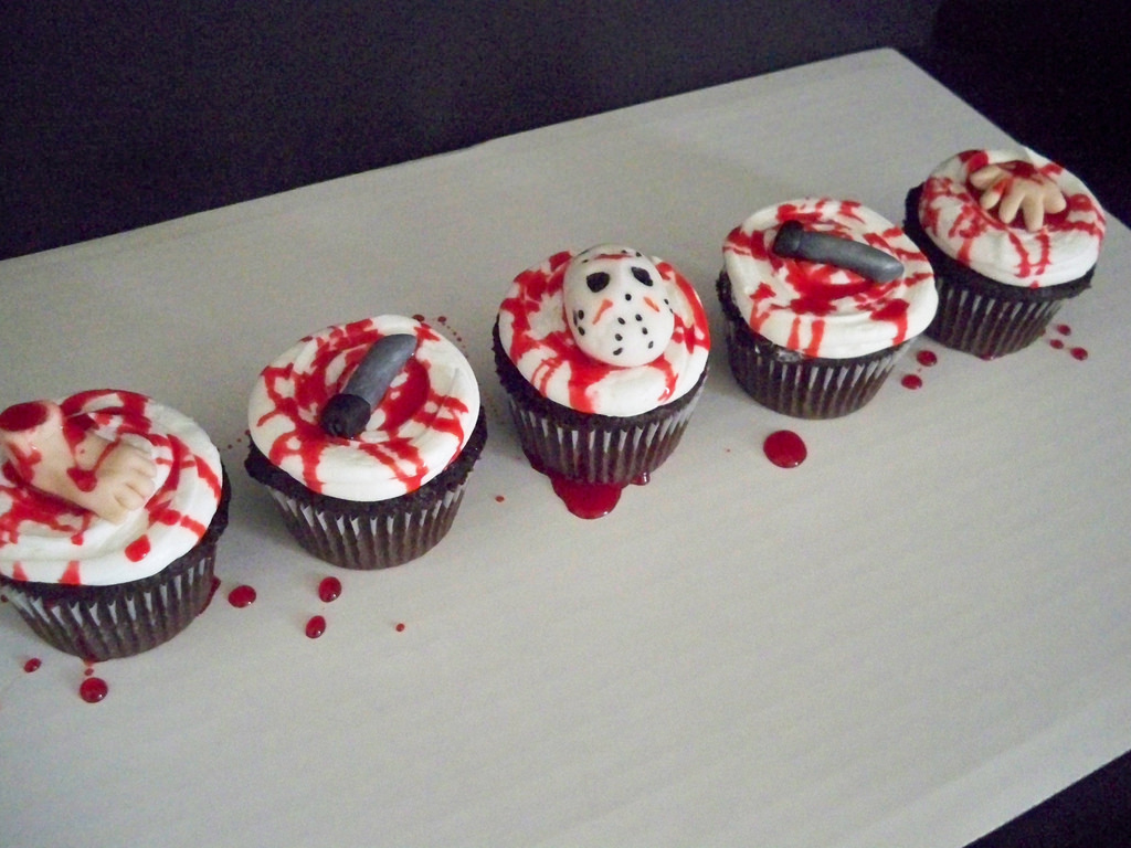 10 Friday The 13th Cupcakes Photo Friday The 13th Birthday Party