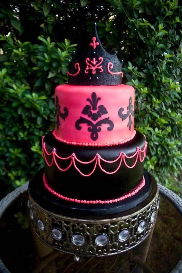 8 13th Birthday Cakes Round Photo Girls 13th Birthday Cake Ideas