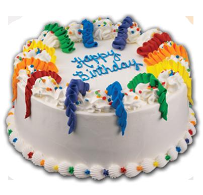 Happy Birthday Cake Ice Cream Baskin Robbins