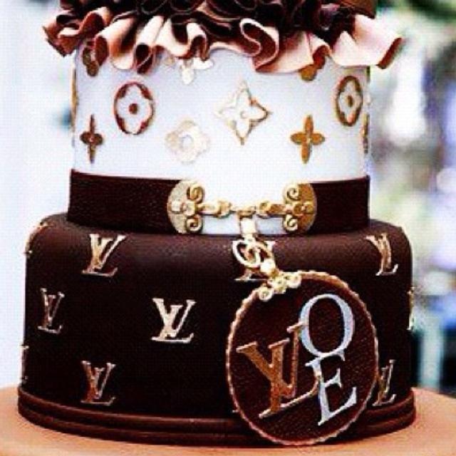 6 Unique Birthday Cakes Louis Vuitton Photo