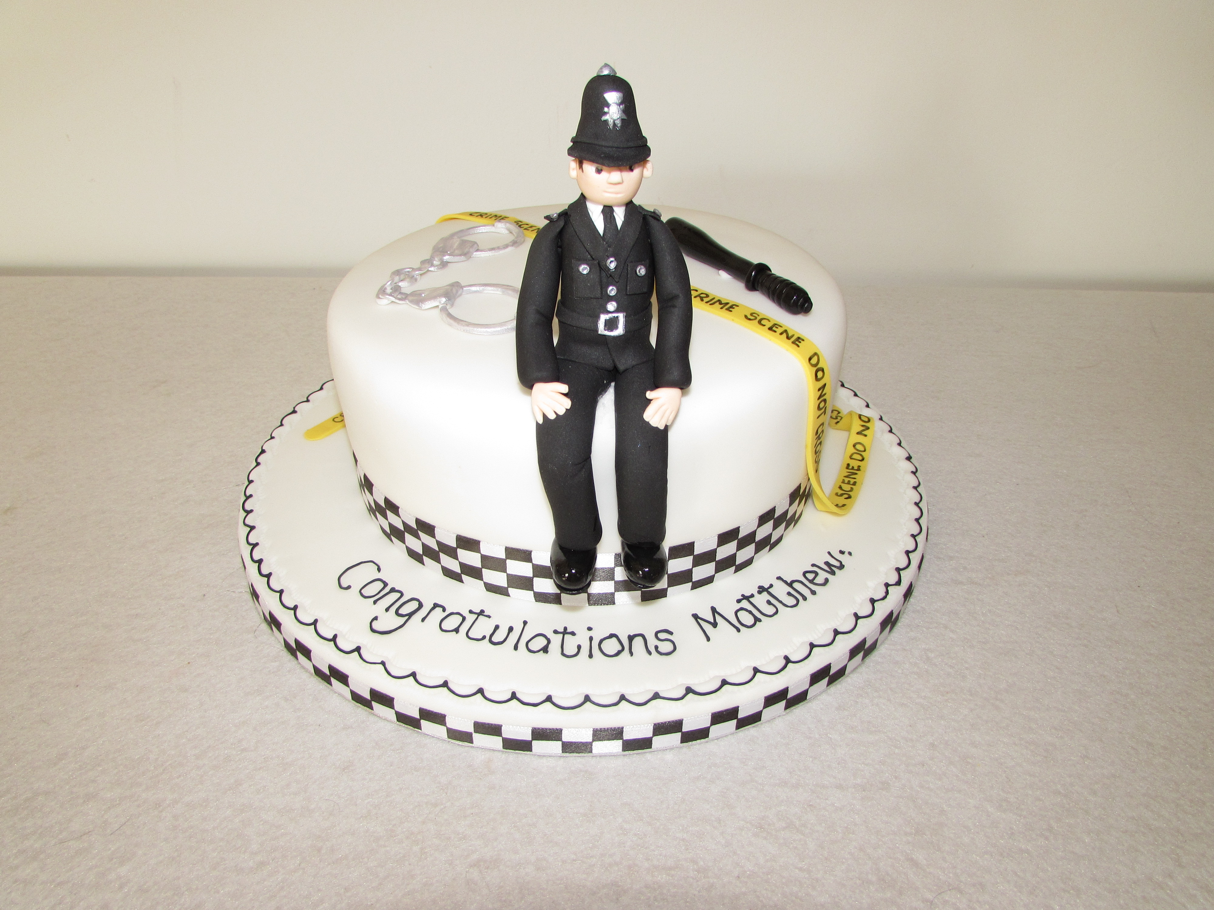 Marvelous 12 Police Man Cakes Photo Police Officer Shirt Cake Police Funny Birthday Cards Online Hendilapandamsfinfo