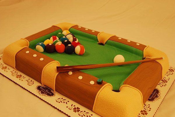Tremendous 10 Pool Table Cakes For Men Photo Pool Table Cake Pool Table Personalised Birthday Cards Akebfashionlily Jamesorg