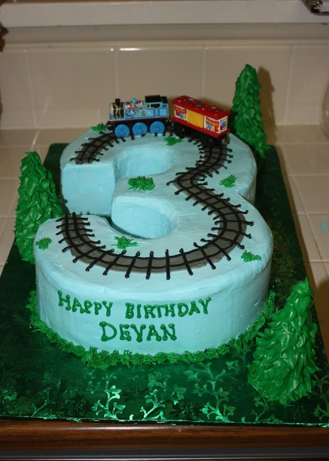 Train Cake 3 Year Old