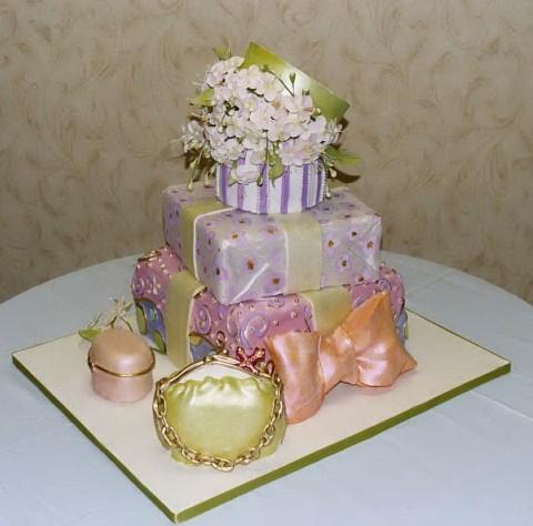 11 Present Wedding Cakes Photo Wedding Gift Box Cake Lilies Of