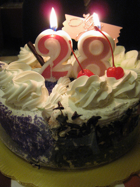 10 Birthday Cakes For Turning 28 Photo