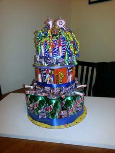 12 18th Birthday Cakes Teenage Boys Photo