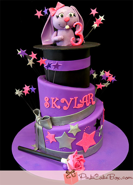 Pleasing 10 Birthday Cakes That Say Happy Birthday Skylar Photo Bunny Funny Birthday Cards Online Elaedamsfinfo
