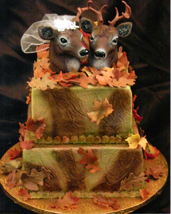 12 Hunting Camo Wedding Cakes Photo Camo Wedding Cake Ideas Camo