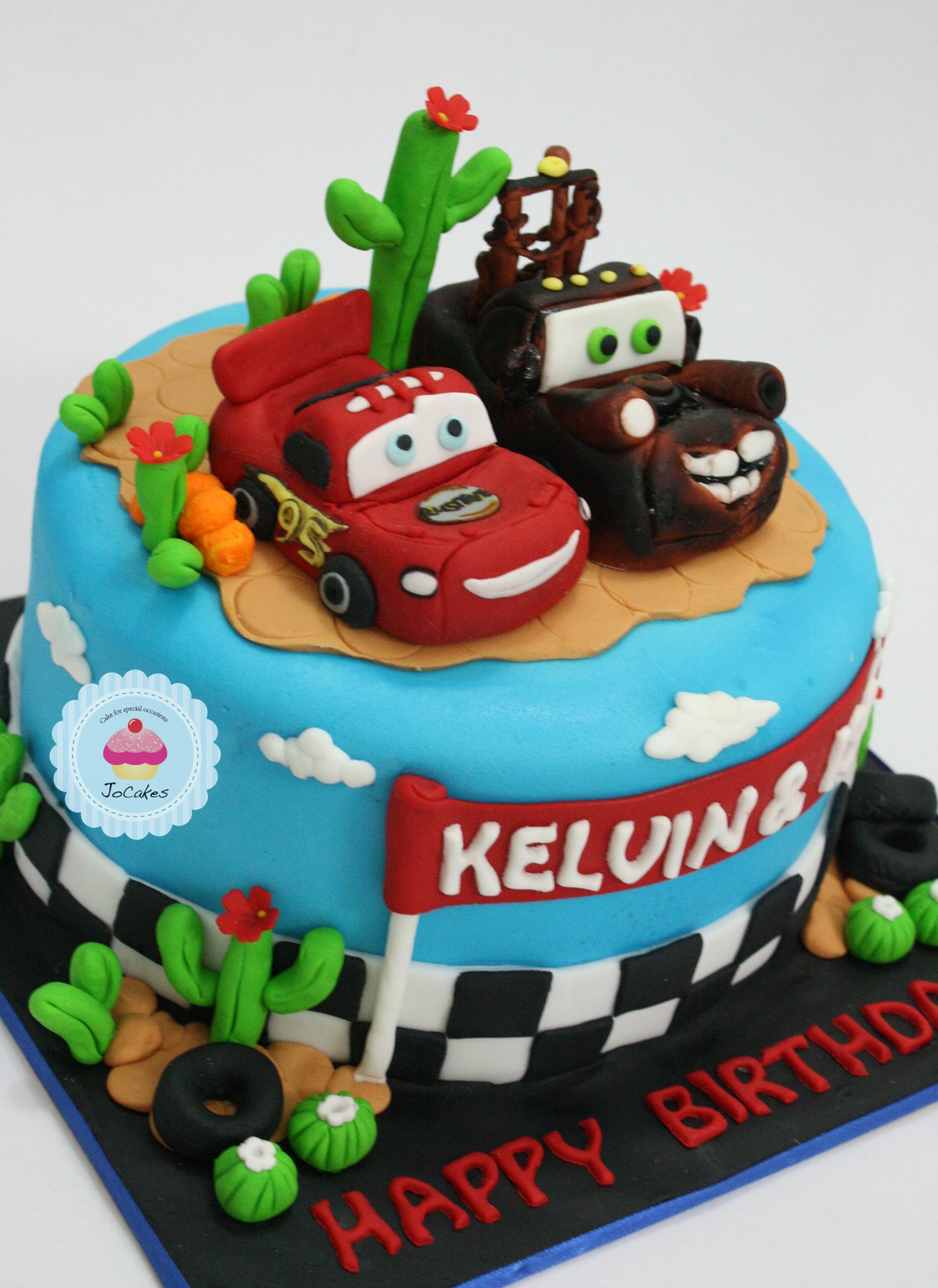 9 Girls Cars Bithday Cakes Photo Girl Race Car Birthday Disney