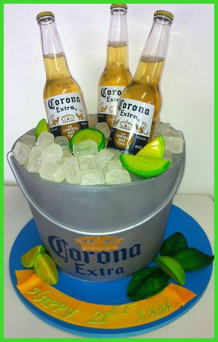 8 Corona Beer Birthday Cakes Photo Corona Beer Happy Birthday Cake