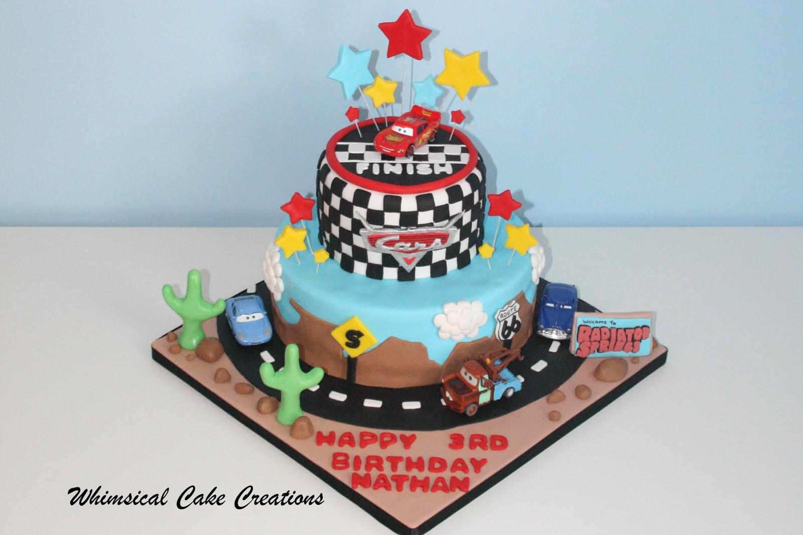 8 Disneys Cars Birthday Cakes Photo