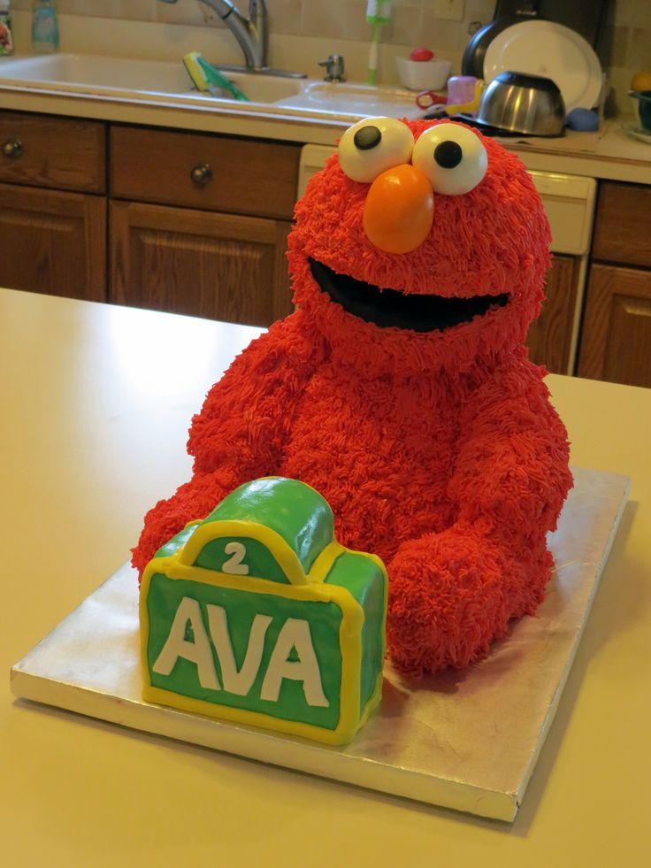 Outstanding 11 3D Elmo Cake Birthday Cakes Photo Elmo 3D Birthday Cake Elmo Funny Birthday Cards Online Bapapcheapnameinfo