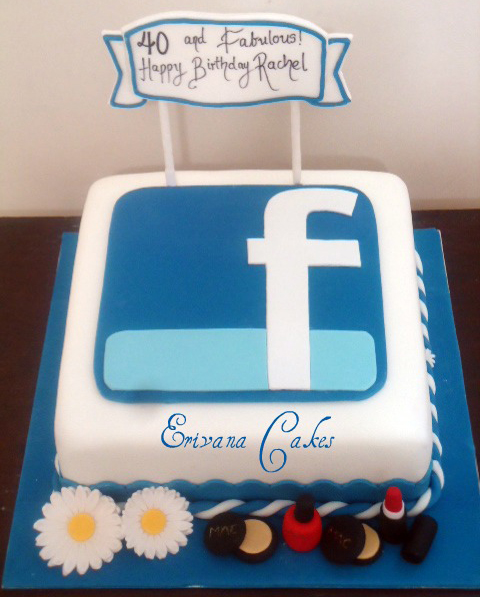 Astounding 10 Happy Birthday Cakes For Facebook Photo Facebook Happy Funny Birthday Cards Online Alyptdamsfinfo