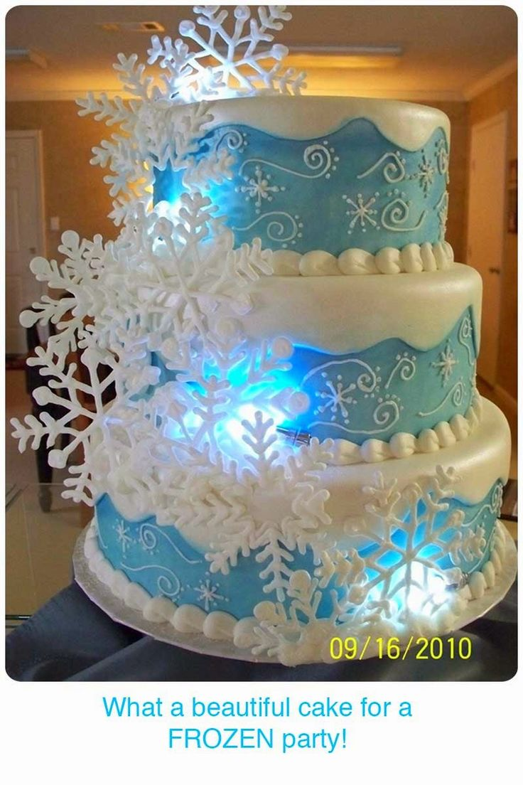 11 Decorated Cakes From Movie Frozen Photo Disney Frozen Birthday