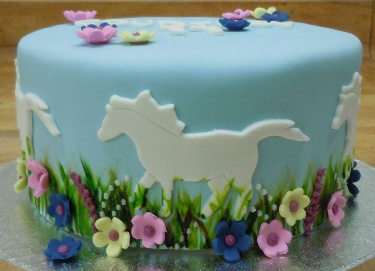 11 Cakes Decorated With Horse Theme Photo Horse Birthday Cake