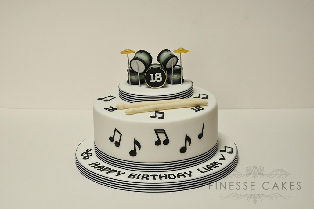 11 Music Themed Cakes For Men Photo