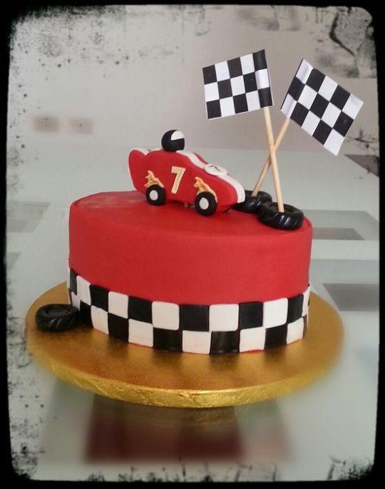 Awe Inspiring 5 2 Racing Birthday Cakes Photo Race Car Birthday Cake Racing Funny Birthday Cards Online Aboleapandamsfinfo