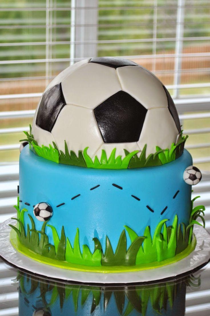9 Soccer B Day Cakes Photo Soccer Birthday Cake Soccer Sweet 16