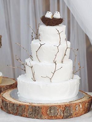 6 Tree Slab Wedding Cakes Photo Tree Slice Cake Stand Tree Slab