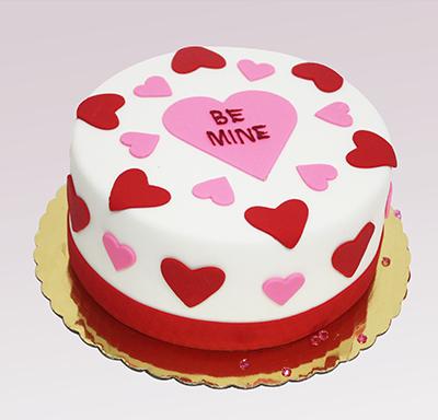 12 Single Valentine Cakes Designs Photo Valentine Cake Ideas