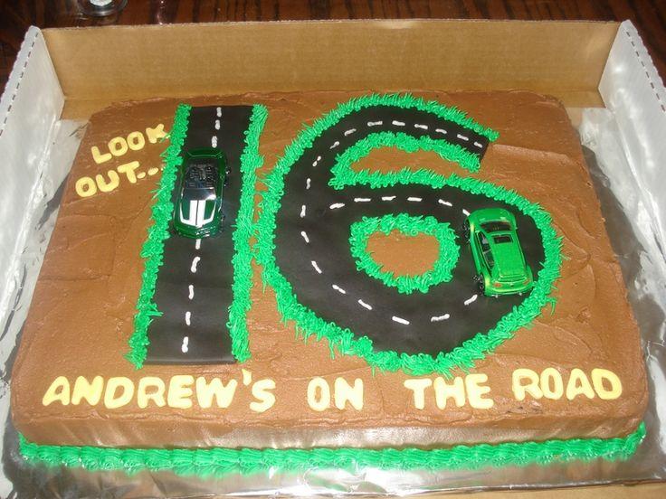 Incredible 12 Cookie Birthday Cakes For Boys 16 Photo Boys 16Th Birthday Funny Birthday Cards Online Chimdamsfinfo