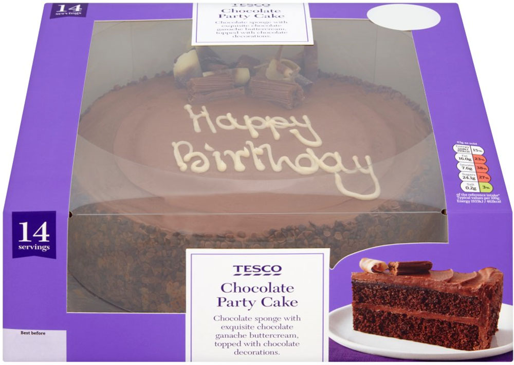 9 Portmarnock Tesco Birthday Cakes Photo