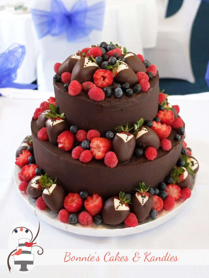 5 No Fruit Wedding Cakes Photo Images Of Fondant Wedding Cakes - Fresh Fruit Wedding Cake