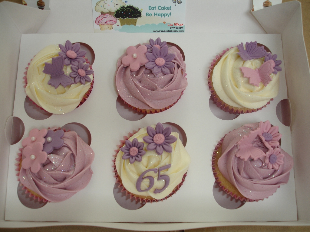 Cupcake Ideas For 65th Birthday Cake