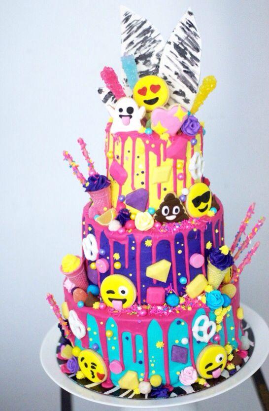 11 Emoji Birthday Cakes For Girls 10 Photo Emoji Birthday Cake