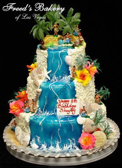 hawaiian wedding cake with mix 11 wedding cakes hawaii theme wedding photo hawaiian 15133