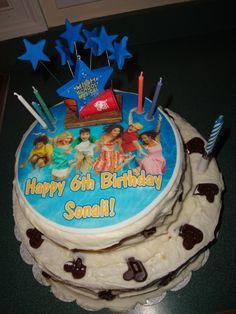 9 Birthday Cakes Disney Channel Photo Disneys Shake It Up