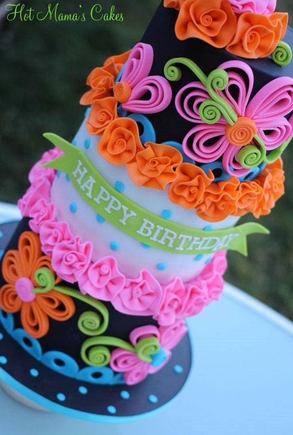 Miraculous 11 Amazing Birthday Cakes Neon Photo Neon Birthday Cake Ideas Birthday Cards Printable Giouspongecafe Filternl