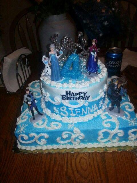 11 Girls Frozen Birthday Cakes Publix Photo Frozen Disney Cake