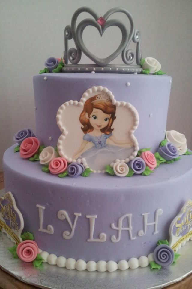 Surprising 7 Princess Sofia The First Birthday Cakes Photo Sofia The First Funny Birthday Cards Online Fluifree Goldxyz