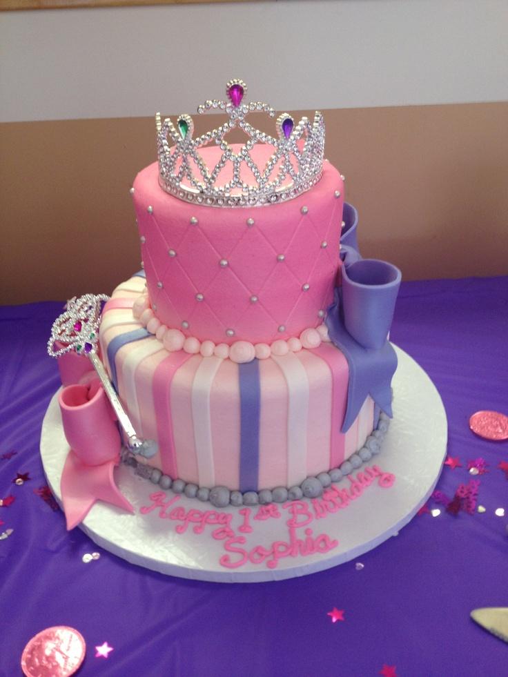 11 Princess First Birthday Cakes For Girl Photo Baby Girl Princess