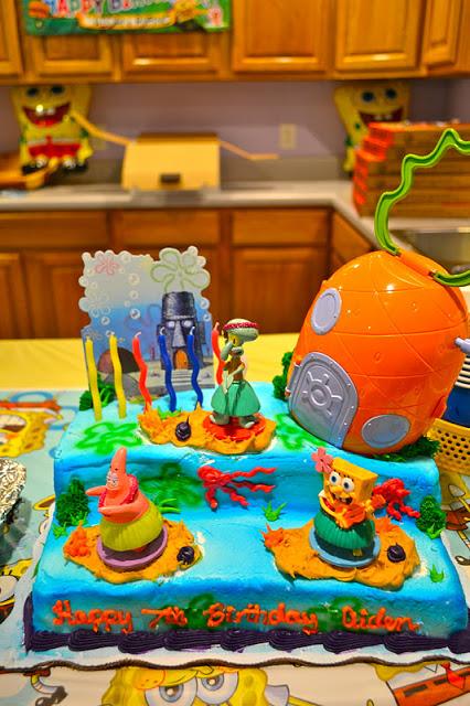 Prime 11 Spongebob Cakes At Wal Mart Photo Spongebob Birthday Cakes At Funny Birthday Cards Online Fluifree Goldxyz
