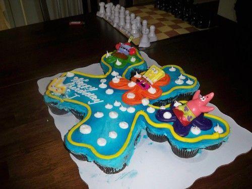 Phenomenal 11 Spongebob Cakes At Wal Mart Photo Spongebob Birthday Cakes At Funny Birthday Cards Online Fluifree Goldxyz