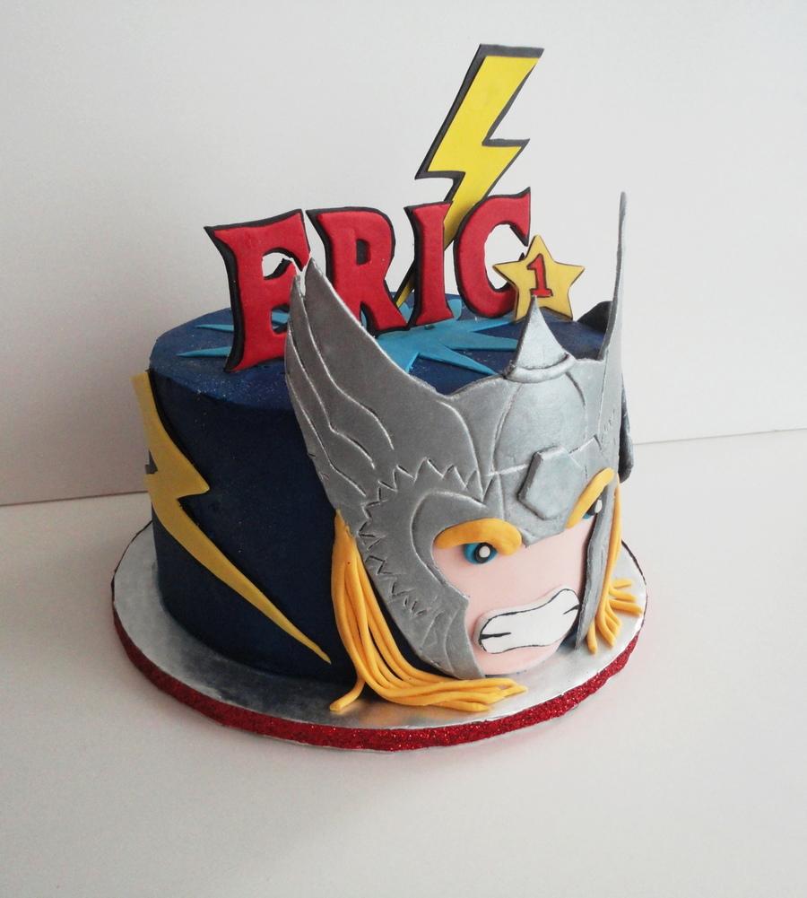 Enjoyable 7 Avengers Cakes Thor Photo Avengers Birthday Cake Thor Personalised Birthday Cards Paralily Jamesorg