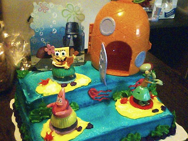 Brilliant 11 Spongebob Cakes At Wal Mart Photo Spongebob Birthday Cakes At Funny Birthday Cards Online Fluifree Goldxyz