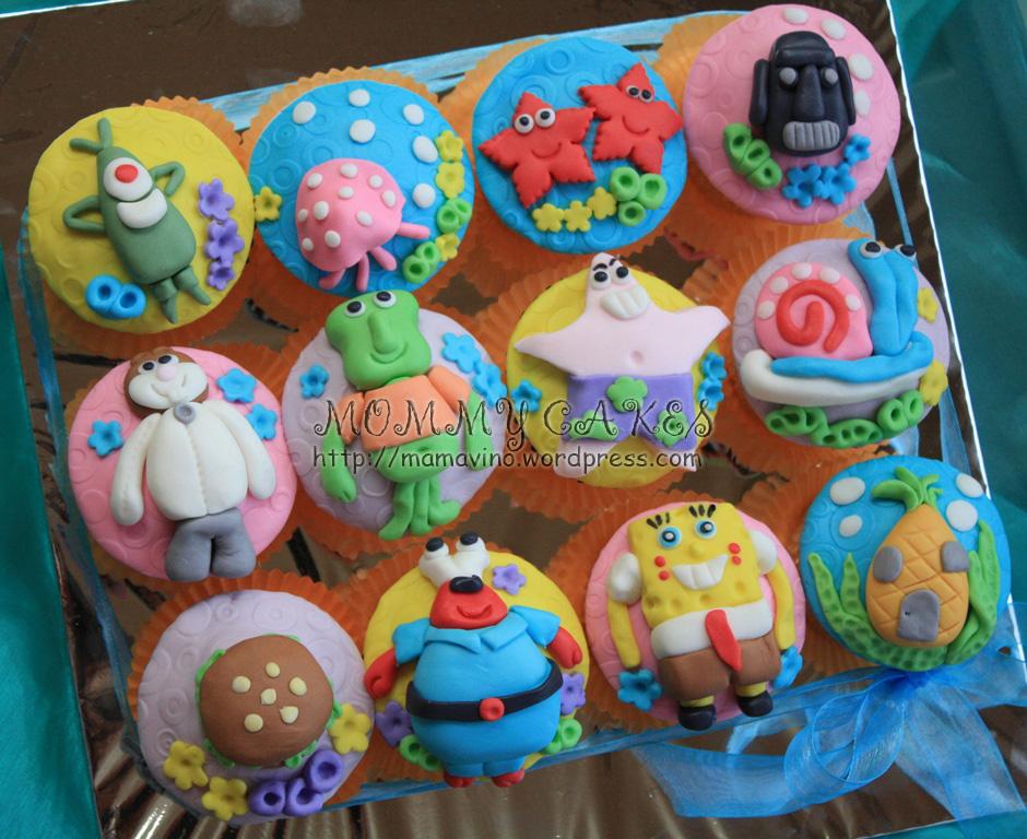 Walmart Spongebob Cupcake Cake