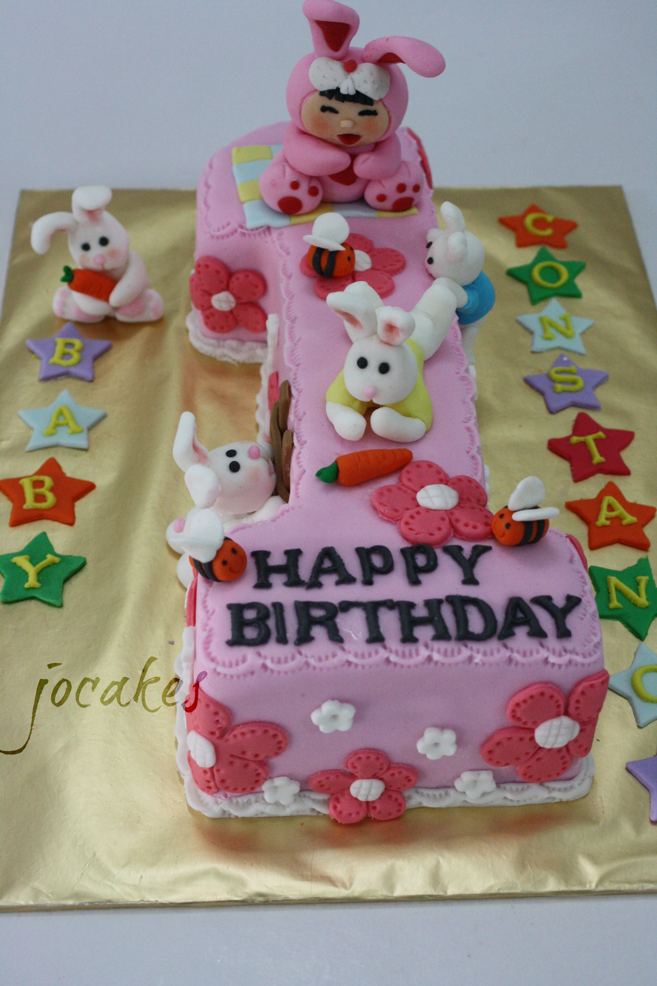 1 Year Old Birthday Cakes For Babies