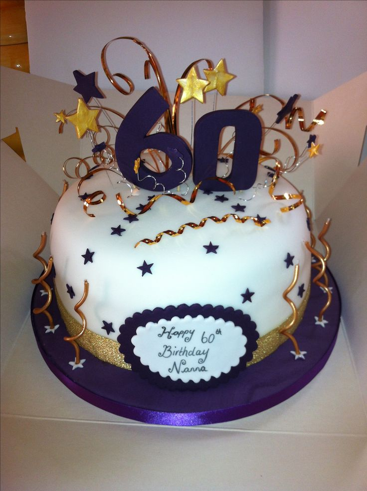 11 Cakes 60th Birthday Party Ideas For Women Photo